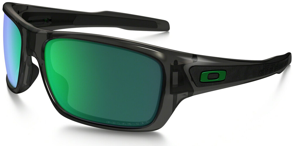 Oakley Turbine Grey Smoke/Jade Iridium Polarized Y7Hzpw